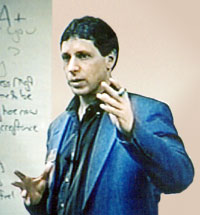 Dr. Komor teaching a seminar